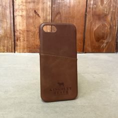 Tan Iphone 7 Leather Case