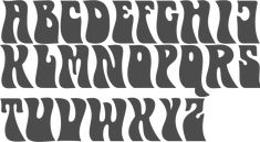 MyFonts: Hippie typefaces Type design information compiled and maintained by Luc Devroye. Graffiti Lettering, Typography Letters, Typography Logo, Graphic Design Typography, Psychedelic Typography, Psychedelic Art, Hippie Font, Wes Wilson, Typographie Inspiration