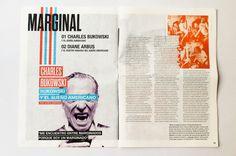 Revista Literata, diseñada por Javier Zamora. Premio Laus 2015 en la categoría de estudiantes.