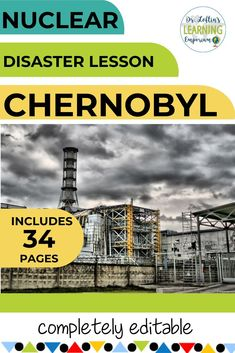 Is teaching about the Chernobyl disaster a standard you need to teach? Be sure to check out this PowerPoint lesson. This has an overview of the disaster and includes a link from PBS explaining what happened and much more. Social Studies Lesson Plans, Social Studies Activities, Teaching Social Studies, Science Resources, Teacher Resources, Classroom Resources, Teaching Ideas, High School History, Ap World History