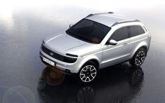 New Lada Niva - 2015 design sketch