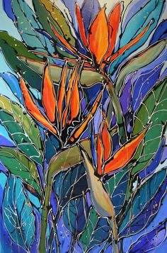 'Exotic Bird of Paradise'