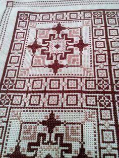 Cross Stitch Designs, Cross Stitch Embroidery, Embroidery Designs, Diy Crafts, Crochet, Pattern, Fabric, Handmade, Craft