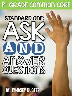 GENIUS activities for Common Core Standard One: Ask and Answer Questions