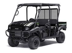 New 2017 Kawasaki MULE 4010 Trans4x4 SE ATVs For Sale in North Carolina. 617 cc fuel-injected, V-twin engine produces reliable performanceSE features include high-output LED headlights, sun top, and SE color and graphicsSelectable 2WD or 4WD with dual-mode rear differentialUp to 1,200 lbs. towing capacity and 800 lbs. cargo bed capacityElectric Power Steering (EPS) provides all-day driving comfort
