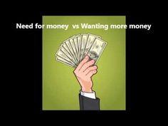 Abraham Hicks ~ Need for money vs Wanting more money - YouTube