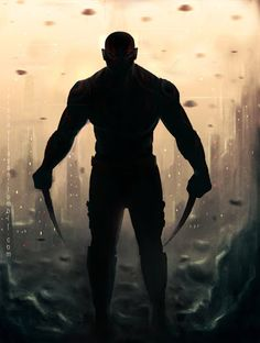 Drax the Destroyer from GotG Marvel Films, Marvel Heroes, Marvel Characters, Marvel Dc, Marvel Comics, Geeks, Star Trek, Drax The Destroyer, Comic Art