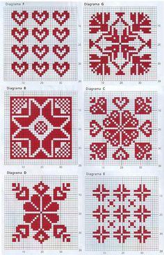 Рисунки и орнаменты для вязания спицами. Обсуждение на LiveInternet - Российский Сервис Онлайн-Дневников