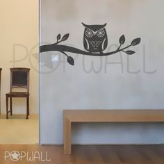 Hey, I found this really awesome Etsy listing at http://www.etsy.com/listing/61440325/owl-wall-decal-branch-wall-decals-wall