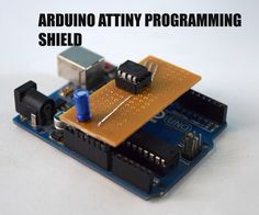 An Attiny is a great alternative to the atmega328, it is for those projects that need few GPIO pins and need to be portable. But unlike the atmgea328 the attiny cannot plug into an Arduino board and be programmed. Another way would be to use a breadboard and an Arduino uno as ISP, but it would be really messy and it would be hard to program it this way multiple times. A better way would be to program it on a shield and in today's instructable I'm going to show you how to build an attiny…