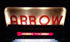 Arrow Beer Sign