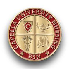 Capella University, MN BSN pin