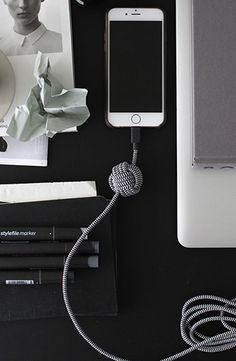 Workspace: stay creative and connected with NIGHT Cable in Zebra @amerrymishap