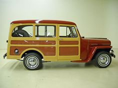 '48 Jeep Willys Station Wagon Tin Woody