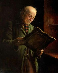 Charles Spencelayh -'A Family Relic'