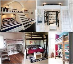 Amazing Interior Design 10 Creative Ways to Decorate Under a Loft Bed