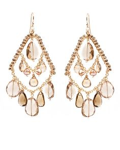 "Amanda Sterett ""Francesca"" Gold Earrings"
