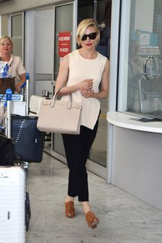 See the most stylish airport style spotted in Cannes: Sienna Miller