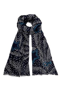 Subtle and sophisticated, the Grace scarf adds instant polish.