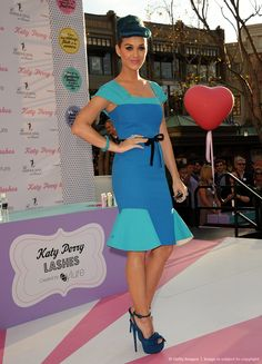 Image detail for -Katy Perry Launch Party For Her Exclusive False Lash Range By Eylure