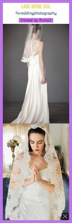 Lace bride veil #bride Spitze Brautschleier   voile de mariée en dentelle   velo de novia de encaje   lace bride dress, lace bride veil