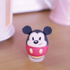 Mickey Mouse Painted Egg