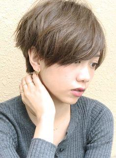 ☆大人カジュアル、リラックスショート☆(髪型ショートヘア)
