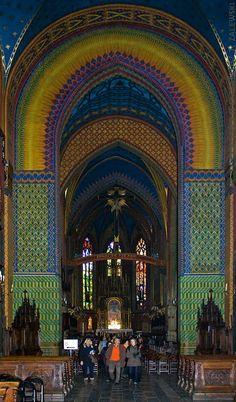 Beautiful! The Franciscan Church in Krakow, Poland