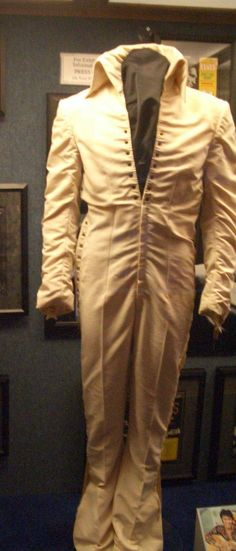 The white jumpsuit today in display at Graceland