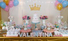 Festa de Princesa! Princess Birthday Party Theme!