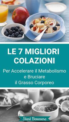Le 7 Migliori Colazioni Per Accelerare il Metabolismo e Bruciare il Grasso Corporeo