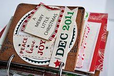 envelope advent calendar | Envelope Advent Calendar | Altered books