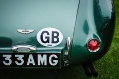 1956 Aston Martin Db3s Fixed Head Coupe Taillight Emblem - Car Images by Jill Reger