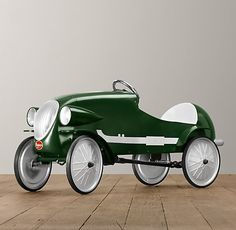Le Mans Pedal Car | Riding Toys | Restoration Hardware Baby & Child  We will be needing one of these :)