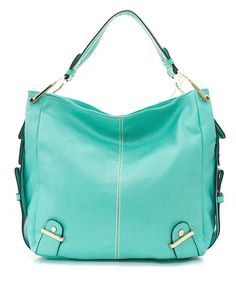 Teal Kate Hobo. LOVE!