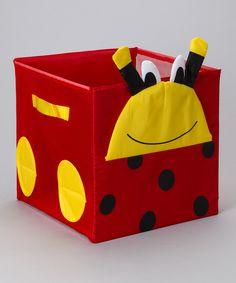 Ladybug Storage Cube $8.99