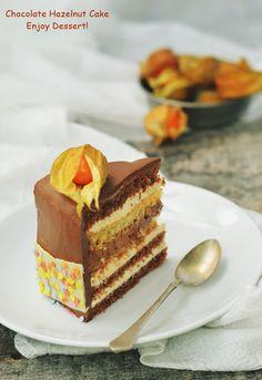Tort cu ciocolata si lichior de alune