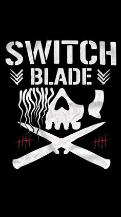 The Switchblade Jay White bullet club logo Wwe Logo, Team Logo, Bullet Club Logo, Wwe Wallpapers, Iphone Wallpapers, Tama Tonga, Collage Sculpture, Japan Pro Wrestling, Wrestling Stars