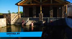 Hobo Hot Springs Saratoga, a free way to soothe your muscles after outdoor adventures.