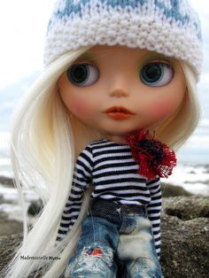 Liesel by the ocean | Liesel in Brittany in April. | Fanny Zara | Flickr