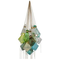 Frida Fjellman, Lustre aux Couleurs de la Forêt | From a unique collection of antique and modern chandeliers and pendants at https://www.1stdibs.com/furniture/lighting/chandeliers-pendant-lights/