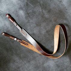 INDY - minimalist camera strap is ready! It's adjustable and very light #letlov #cameraleatherstrap #genuineleather #leathercraft #leathergoods #indianajones by letlov.leather