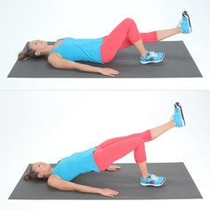 Pin for Later: 3 Reasons to Care About Your Bum That Have Nothing to Do With Looks Single-Leg Bridge