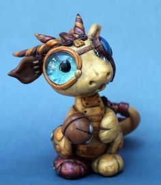 mr. steampunk dragon by BittyBiteyOnes.deviantart.com on @deviantART