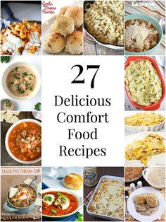 27 Delicious Comfort Food Recipes