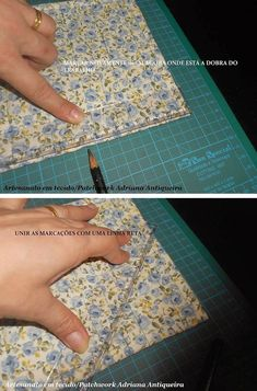 """""""Compartilhando passo a passos"""": """"PORTA OBJETOS"""" Bag Patterns To Sew, Quilt Patterns Free, Dress Sewing Patterns, Sewing Projects For Beginners, Sewing Tutorials, Diy Scarf, Patchwork Bags, Small Quilts, Applique Quilts"""