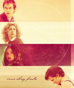 Come along Ponds. ((Sidenote: I'm really wondering what people who don't watch Doctor Who think when they see my pins.))