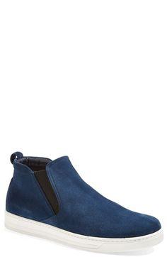 Prada 'Avenue' Suede Chelsea Sneaker (Men) | Nordstrom
