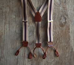 The swing-dancing man in your life might appreciate some vintage-style braces/suspenders. But note: the elasticated clip-on ones, although more common, can come undone when dancing and, under tension, can fly up and the clasp can deliver a nasty wallop. So opt for the buttoned version - just make sure they have a suitable pants with the buttons to attach them.
