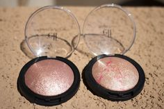 The soft and shimmering color of our Baked Blush creates a natural highlight (just $3!) #strobing #elfcosmetics #playbeautifully